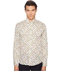 Etro Parrot Print Button Down Shirt