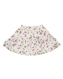 Juicy Couture FRUIT SALAD PRINT POPLIN SKIRT FOR G