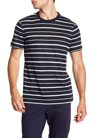Theory Essential Stripe Linen Tee