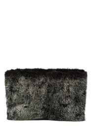 Salvatore Ferragamo Polly Genuine Mink Clutch