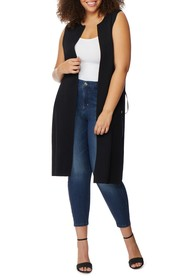 Rebel Wilson X Angels Side Lace-Up Knit Duster (Pl