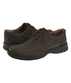 Clarks Brown Oily Leather