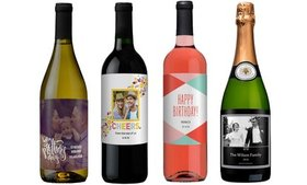 Up to $100 Value Toward Personalized Wines and Gif
