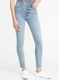 High-Rise Secret-Slim Pockets Raw-Edge Rockstar Su