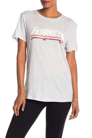 Rebecca Minkoff Love Is The New Black Graphic Tee