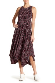 BOSS Hivanna Sleeveless Print Dress