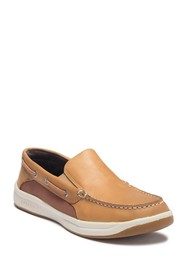 Sperry Convoy S/O Leather Boat Shoe - Wide Widths