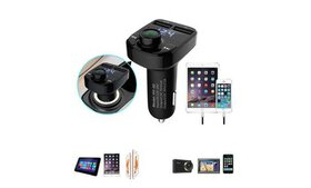 Bluetooth Car Kit Handsfree FM Transmitter Radio M