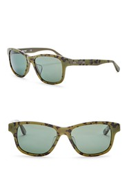 Timberland Polarized 55mm Square Sunglasses