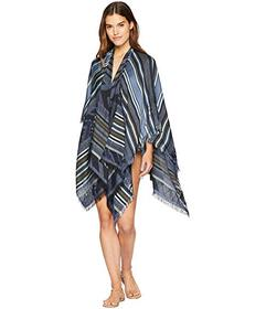 BCBGeneration Tribal Striped Ruana