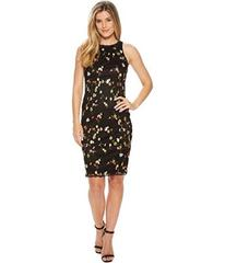 Adrianna Papell Diana Floral Embroidery Sheath