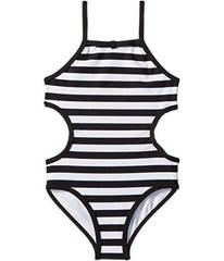 Kate Spade New York Side Cut Out One-Piece (Toddle