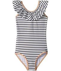 Chloe Striped One-Piece Swimsuit (Toddler/Little K