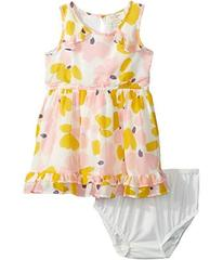 Kate Spade New York Ruffle Hem Dress Set (Infant)