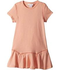 Chloe Jersey Essential Short Sleeve Dress (Little