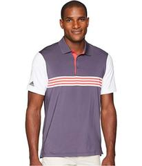 adidas Golf Ultimate Engineered 3-Stripe Polo