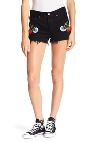Levi's 501 Embroidered Shorts
