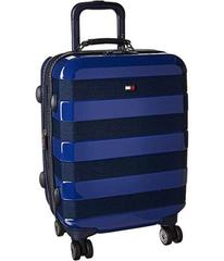 "Tommy Hilfiger Rugby Stripe 21"" Upright Suitcase"