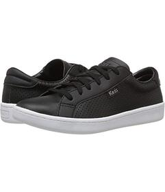 Keds Black Perf Leather