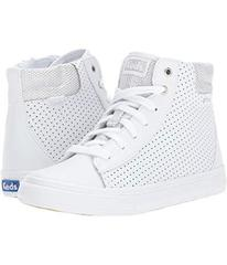 Keds White Perf Leather