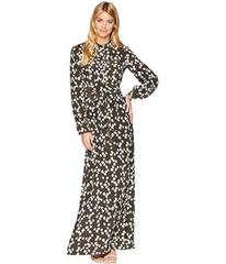 Juicy Couture Abbey Floral Silk Maxi Dress