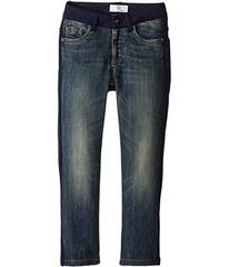 Versace Denim and Sweat Mixed Fabric Pants (Toddle
