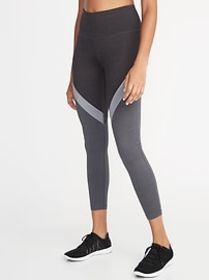 High-Rise Elevate Color-Blocked 7/8-Length Compres