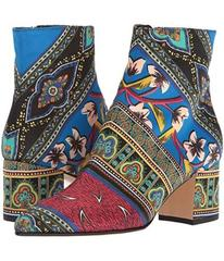 Etro Printed Satin Boot