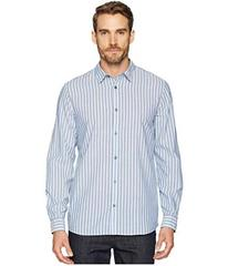 Calvin Klein Long Sleeve Washed Stripe Button Down