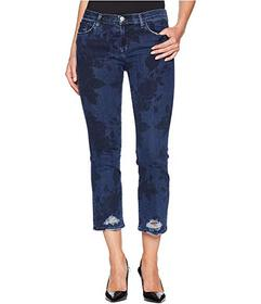 J Brand Selena Mid-Rise Crop Boot Cut Jeans in Cot