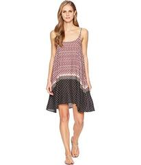 Stetson 1588 Border Print Rayon Slip Dress
