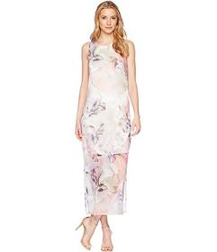 Vince Camuto Sleeveless Diffused Blooms Knit Under