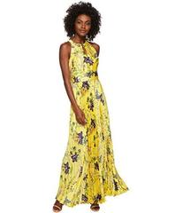 Tahari by ASL Floral Pleated Gown