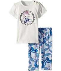 Versace Two-Piece Set with Bear Logo Graphic (Infa