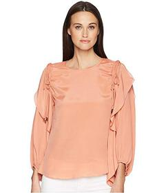 See by Chloe Balloon Sleeve Top