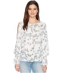 Vince Camuto Long Sleeve Flare Cuff Cold Shoulder