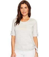 LAUREN Ralph Lauren Striped Roll-Cuff Shirt
