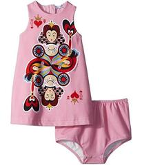 Dolce & Gabbana Queen of Hearts Dress (Infant)