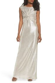 Vince Camuto Twist Front Gown