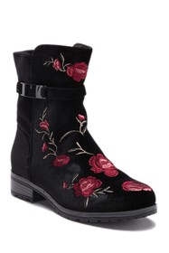 XOXO Embroidered Sporty Oxford Boot (Little Kid &