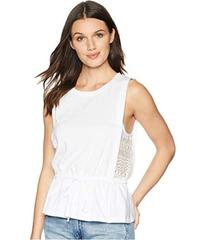 BCBGeneration Side Panel Drawstring Top