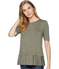 BCBGeneration Back Ruffle Tee