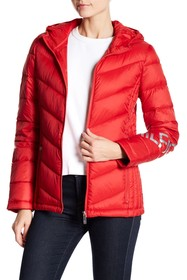 Tommy Hilfiger Packable Puffer Hooded Jacket
