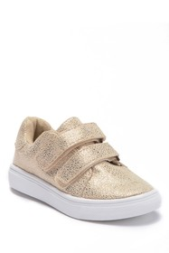 Nicole Miller Foil Faux Suede Sneakers (Toddler)