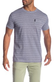 Ben Sherman Mini Stripe Pocket Tee