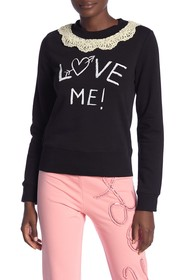 LOVE Moschino Girocollo St. Love Me Sweatshirt