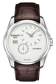 Tissot Couturier Automatic Leather Strap Watch