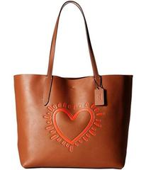 COACH Keith Haring Hudson Leather Tote