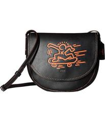 COACH Keith Haring Hudson Leather Crossbody