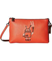 COACH Keith Haring Pebbled Leather Lyla Crossbody